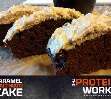 Caramel Macchiato Protein Cake Recipe