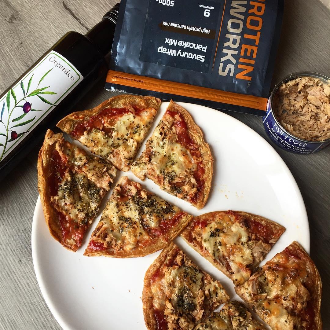 Vegan Protein Dessert Pizza From @balancednotclean