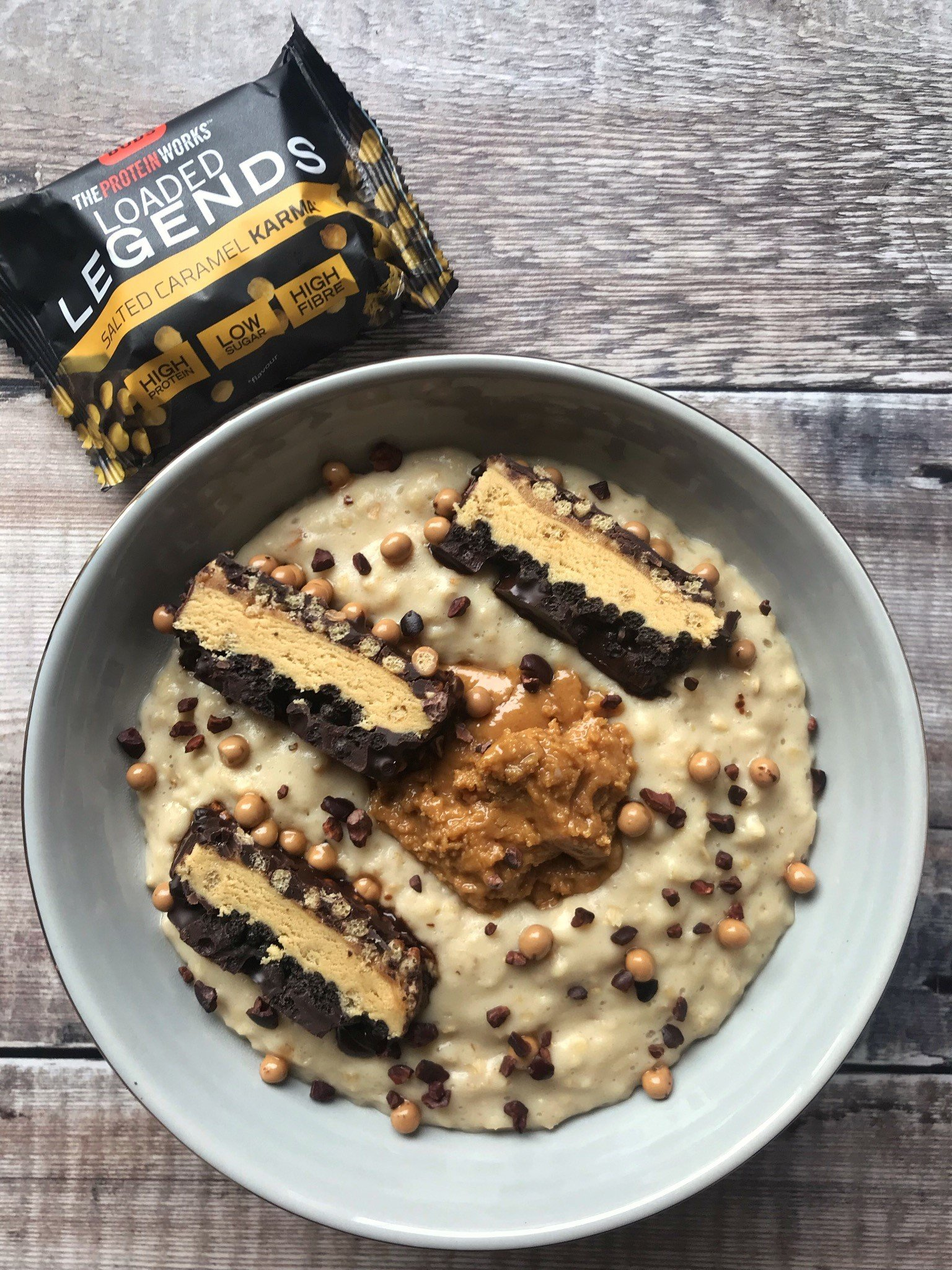 Salted Caramel Protein Oats Recipe