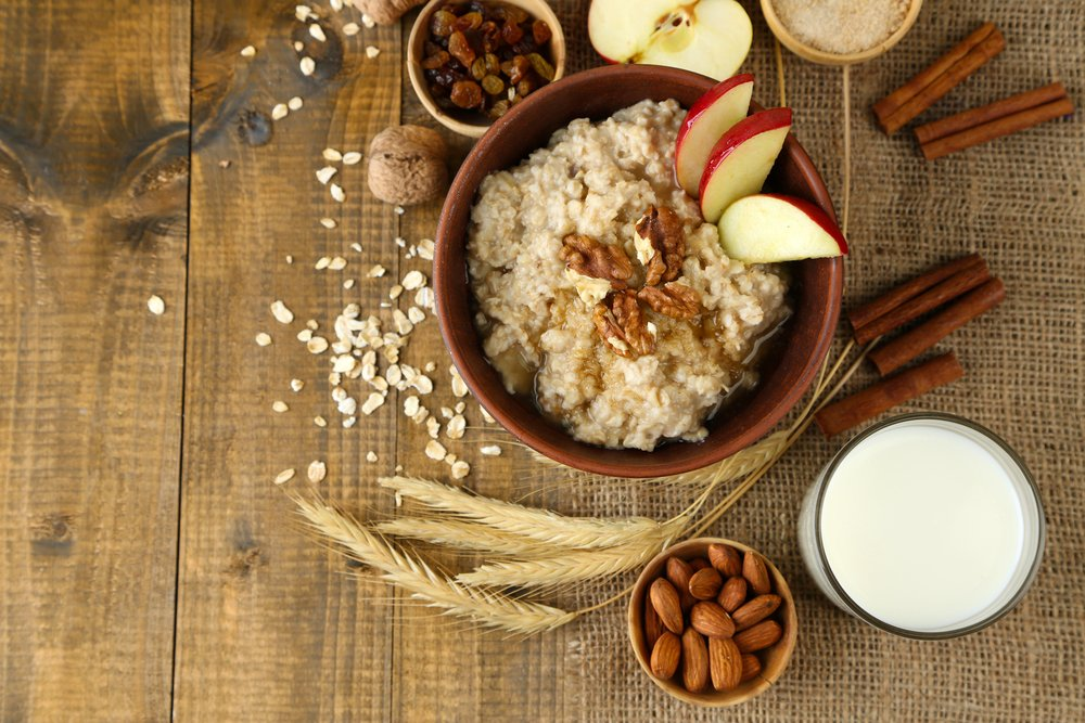 Spiced Apple Pie Protein Oats
