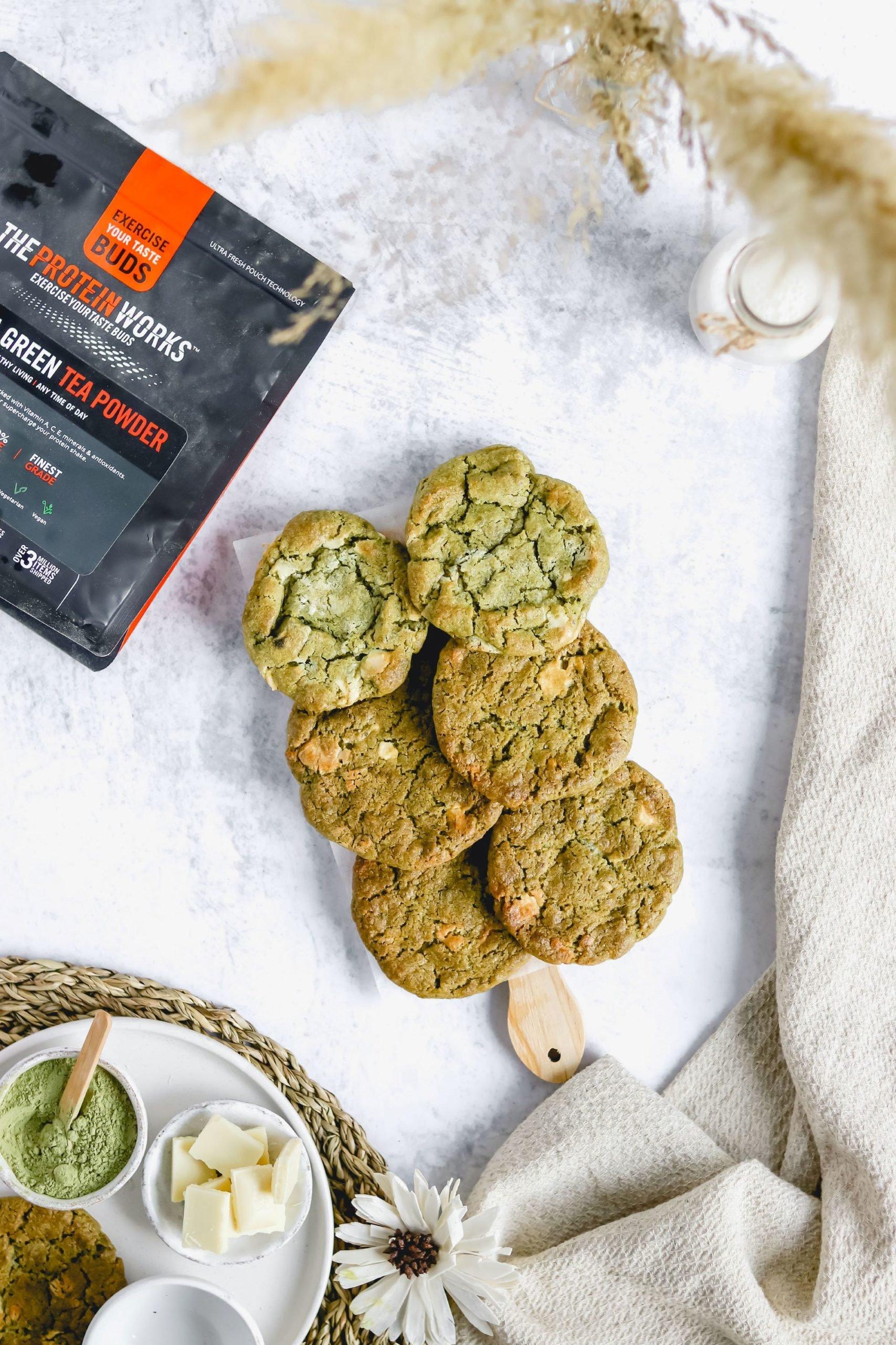 GO GREEN Vegan Matcha Cookies