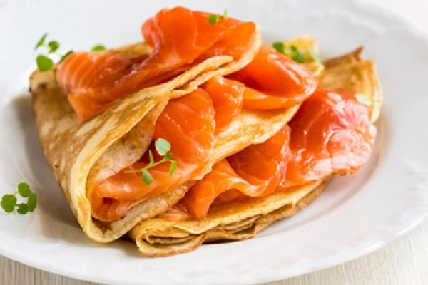 Herzhafte Protein Pancakes