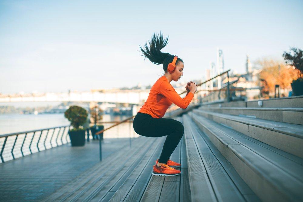 Workout-Serie: 20-minütiges Bein-Workout zu Hause