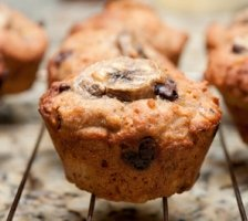 Protein Muffins – Schoko & Banane