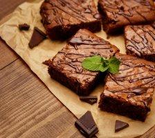 Salzige Karamell Protein Brownies