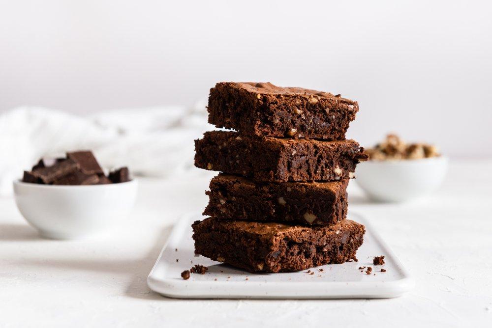 Kichererbsen Brownies