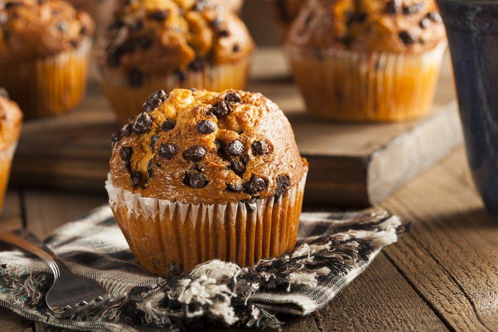 Choc Chip Protein Muffins