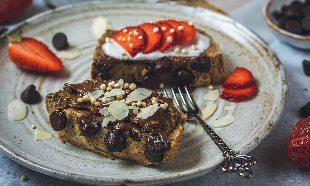 Veganes Proteinbrot ohne Mehl