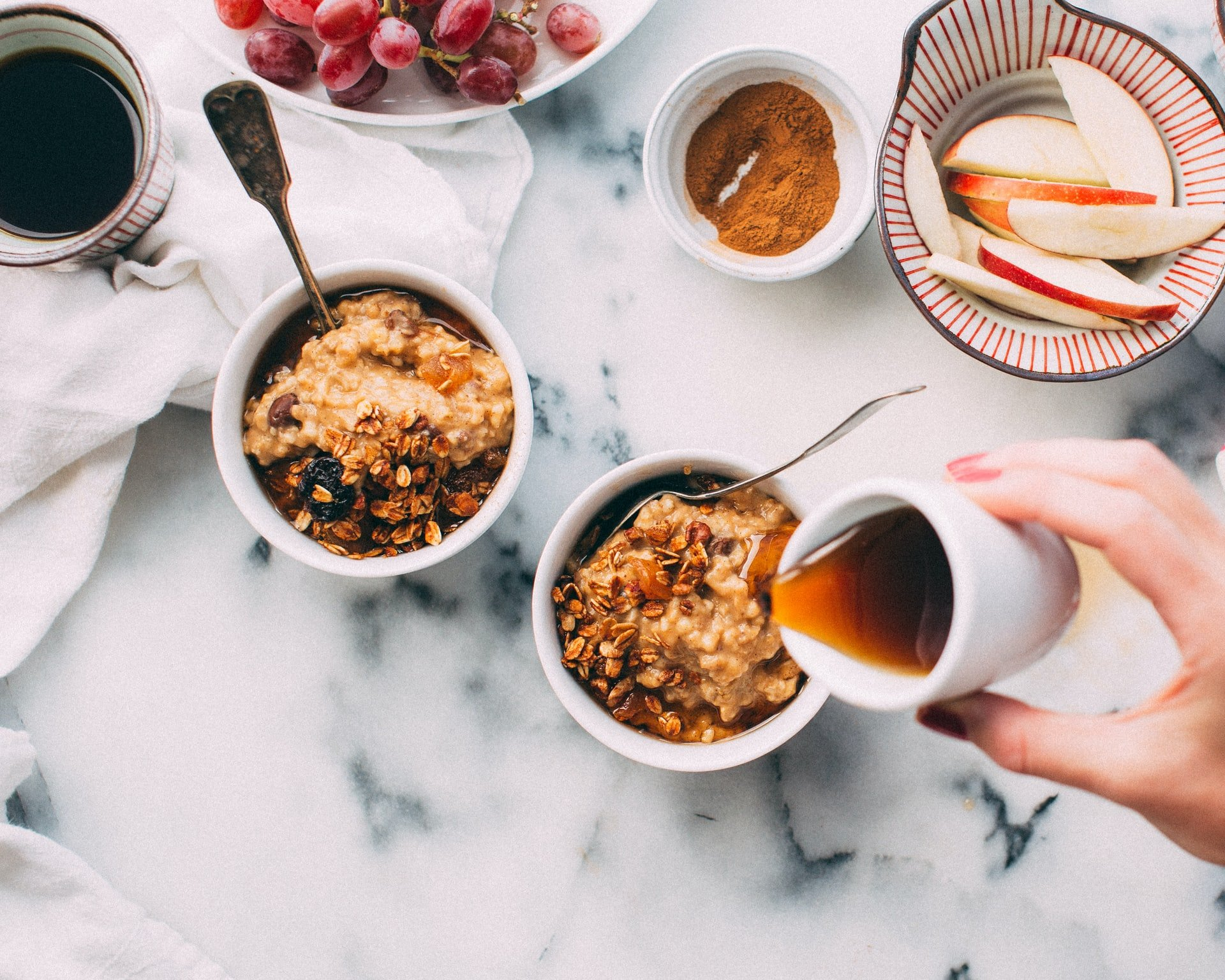 Frühstücks Overnight Oats Rezept
