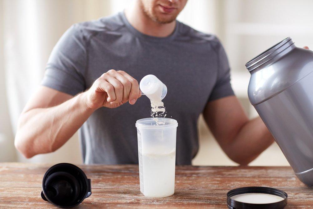 Supplements für den Muskelaufbau zu Hause