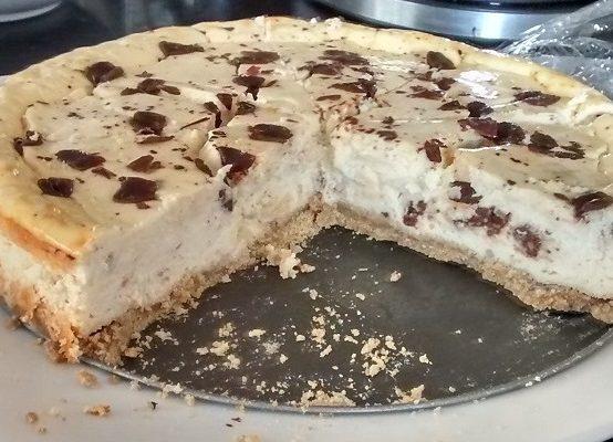 Tarta de queso (Chocolate y vainilla)