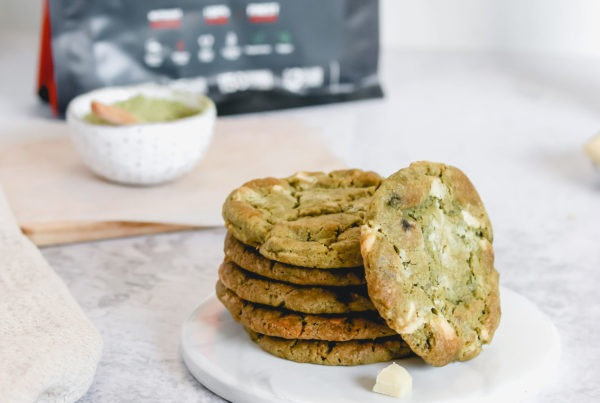 galletas veganas matcha