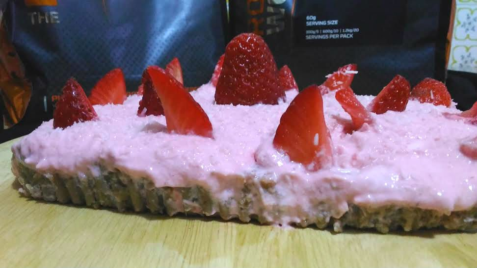Cheesecake Fit Alle Fragole