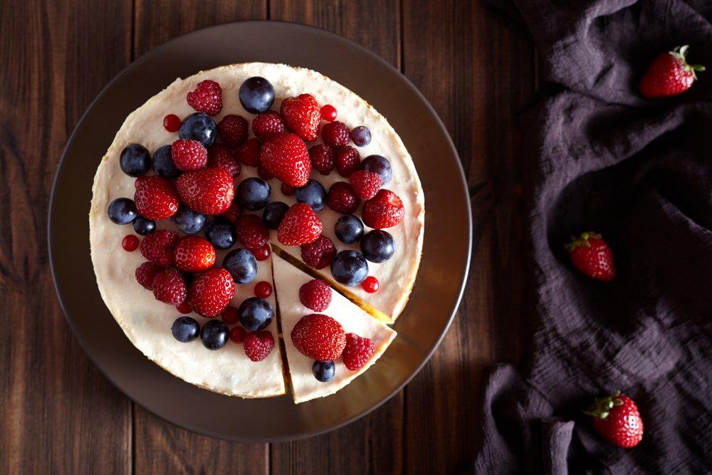 Cheesecake Proteico Sano