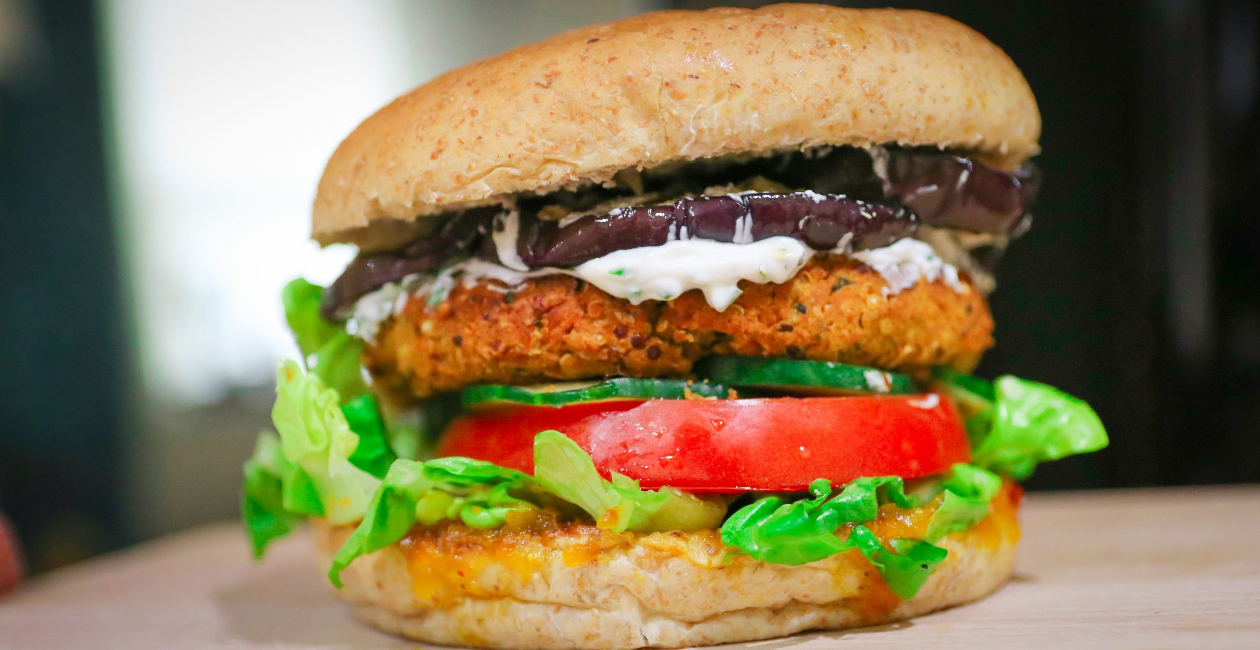 Hamburger di Falafel Vegani Proteici