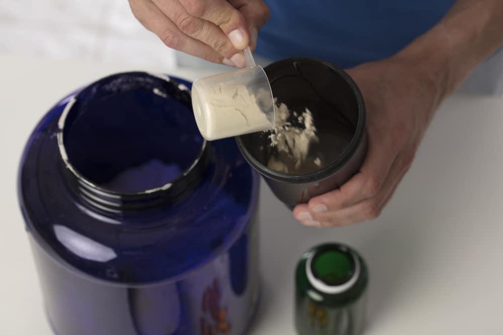 Utilisation de la glutamine pour la récupération