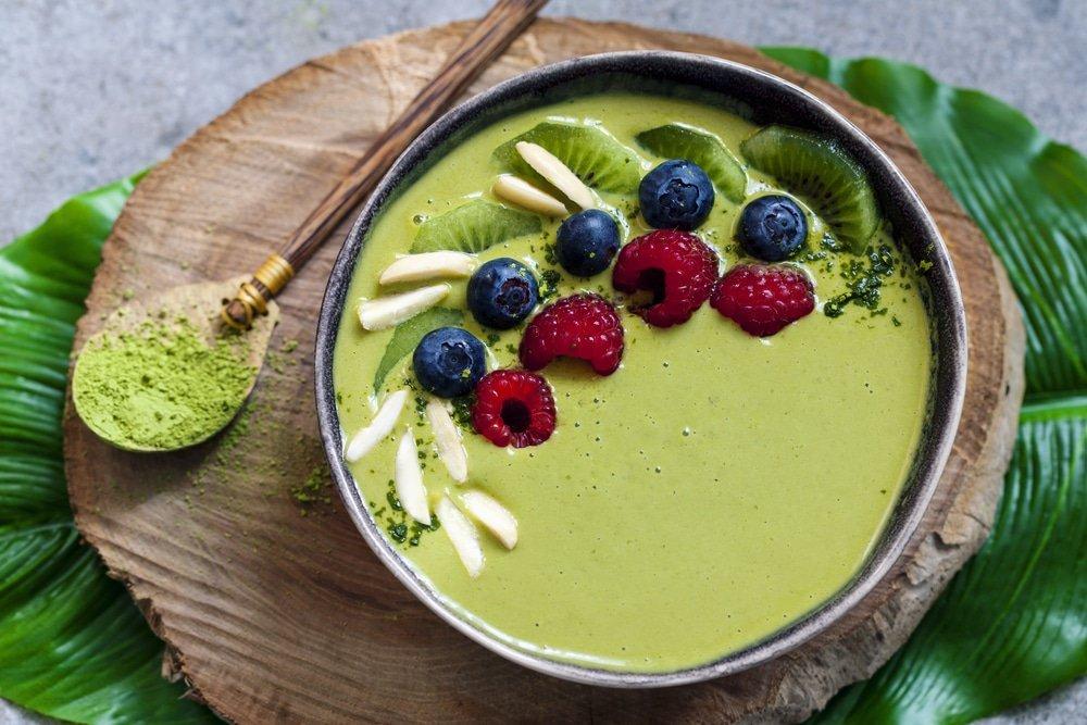 Bol Thé Vert et Menthe Vegan