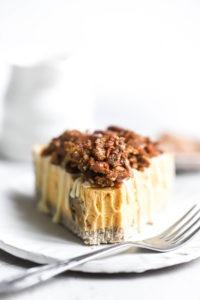 Cheesecake Citrouille Vegan